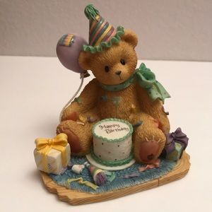 Vintage Retired Cherished Teddies - Birthday Cake